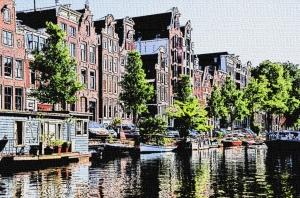 Amsterdam comic